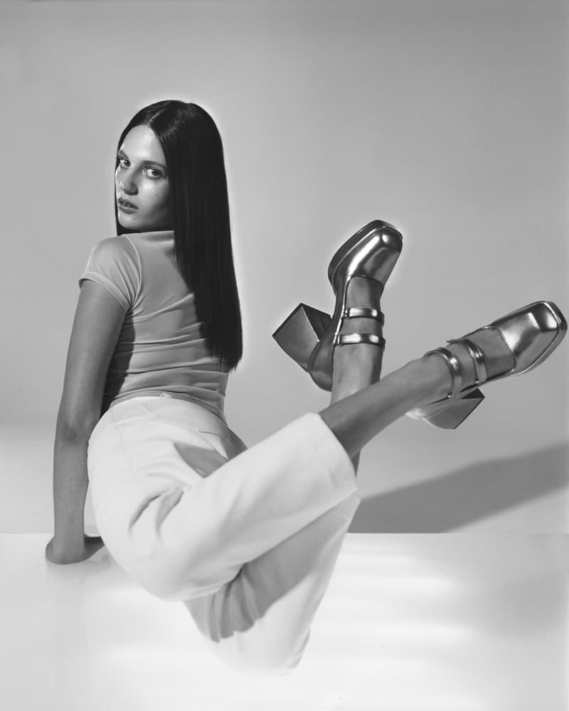Nodaleto Spring Summer 2020 Lookbook Silver Chunky High Heel