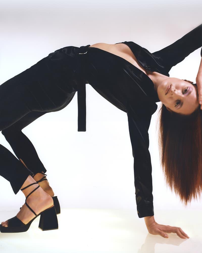 Nodaleto Spring Summer 2020 Lookbook Black Sandal