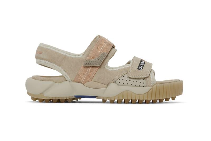 off white virgil abloh oddsy minimal trekking sandals blue beige black shoes footwear