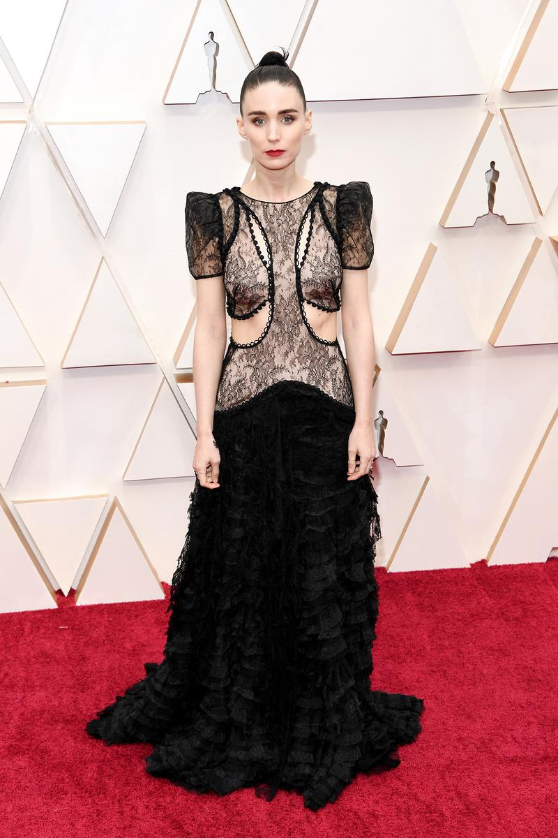Rooney Mara Oscars Red Carpet 92nd Annual Academy Awards