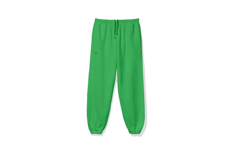 "Pangaia ""7 Pop Color"" Collection Sweatpants Green"