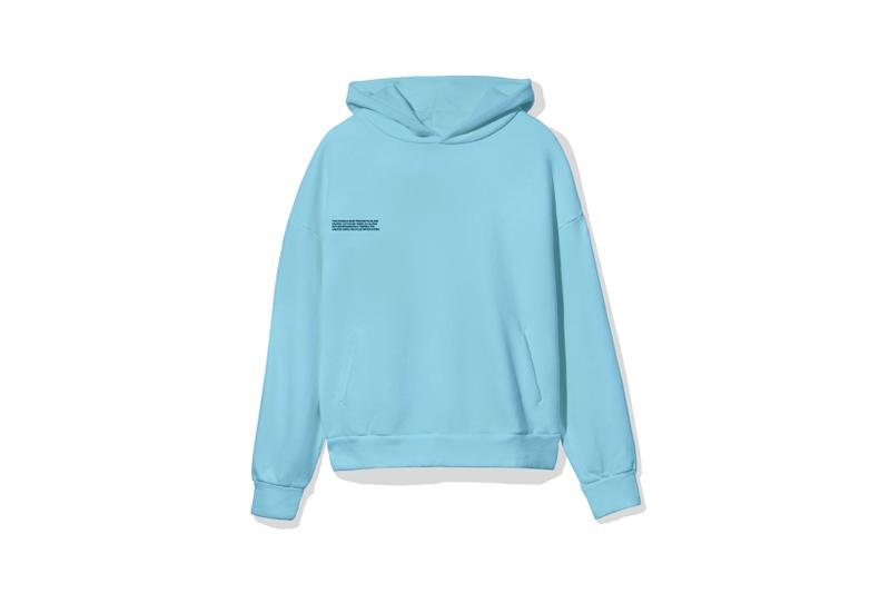 "Pangaia ""7 Pop Color"" Collection Hoodie Blue"