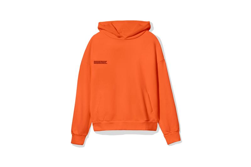 "Pangaia ""7 Pop Color"" Collection Hoodie Orange"