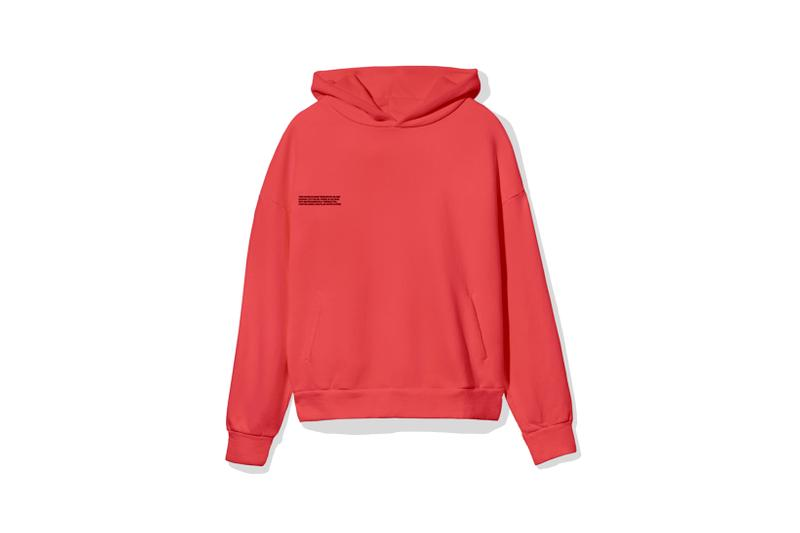 "Pangaia ""7 Pop Color"" Collection Hoodie Red"
