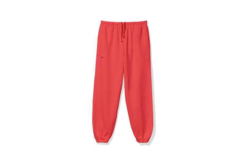 "Pangaia ""7 Pop Color"" Collection Sweatpants Red"