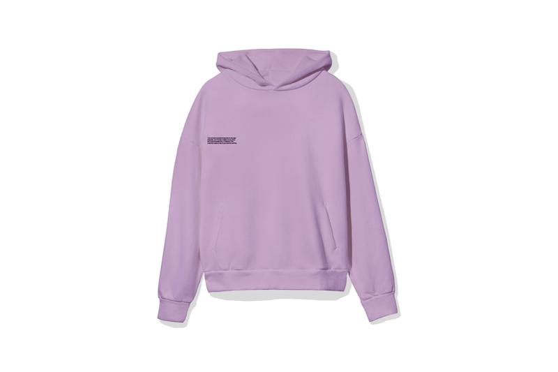 "Pangaia ""7 Pop Color"" Collection Hoodie Purple"
