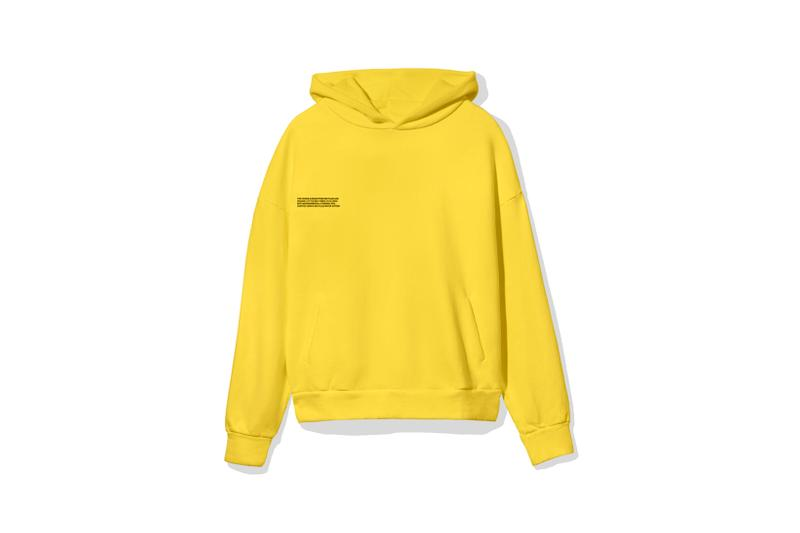 "Pangaia ""7 Pop Color"" Collection Hoodie Yellow"