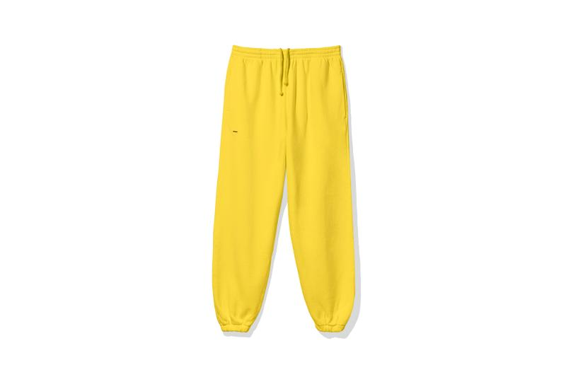 "Pangaia ""7 Pop Color"" Collection Sweatpants Yellow"