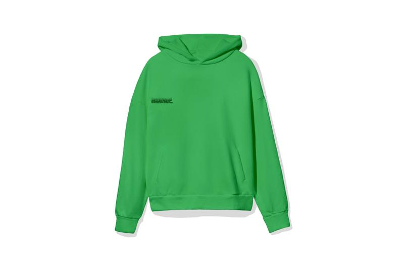 "Pangaia ""7 Pop Color"" Collection Hoodie Green"