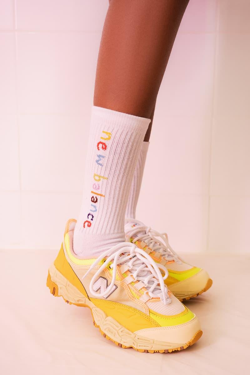PaperBoy Paris x New Balance Collection Collaboration 801 Ginger Lemonade