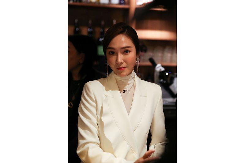 paris fashion week celebrity style off-white jessica jung