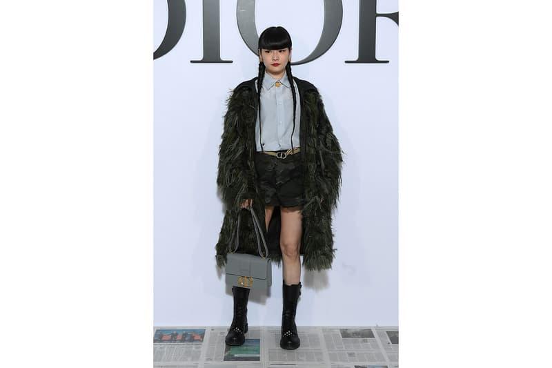 paris fashion week celebrity style dior kozue akimoto