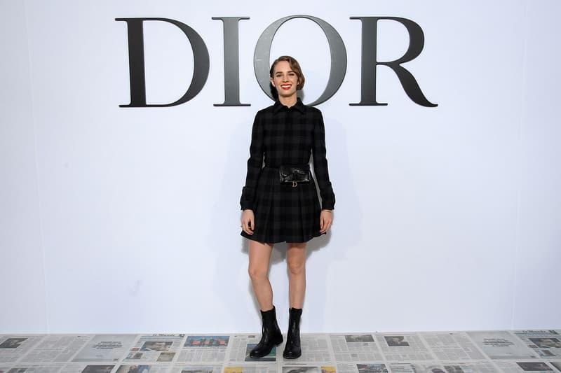 paris fashion week celebrity style dior maya hawke