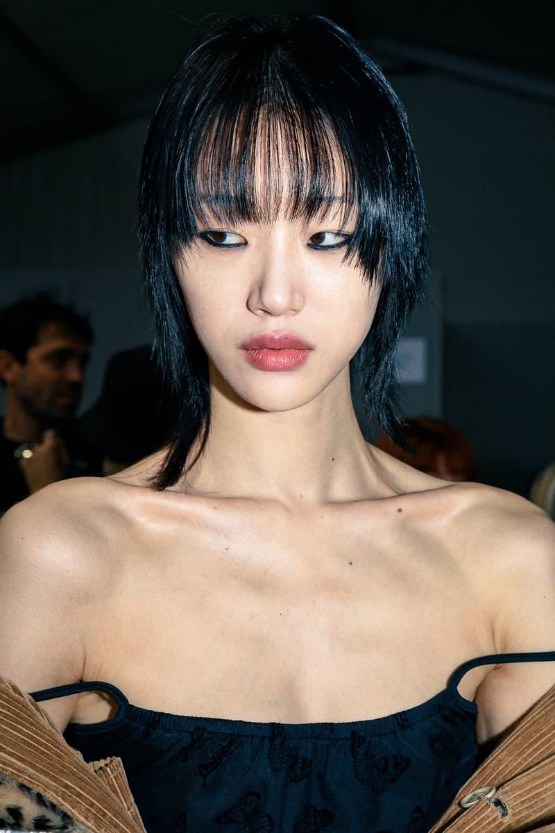Dior Fall/Winter 2020 Show Paris Fashion Week Backstage Makeup Hair Beauty