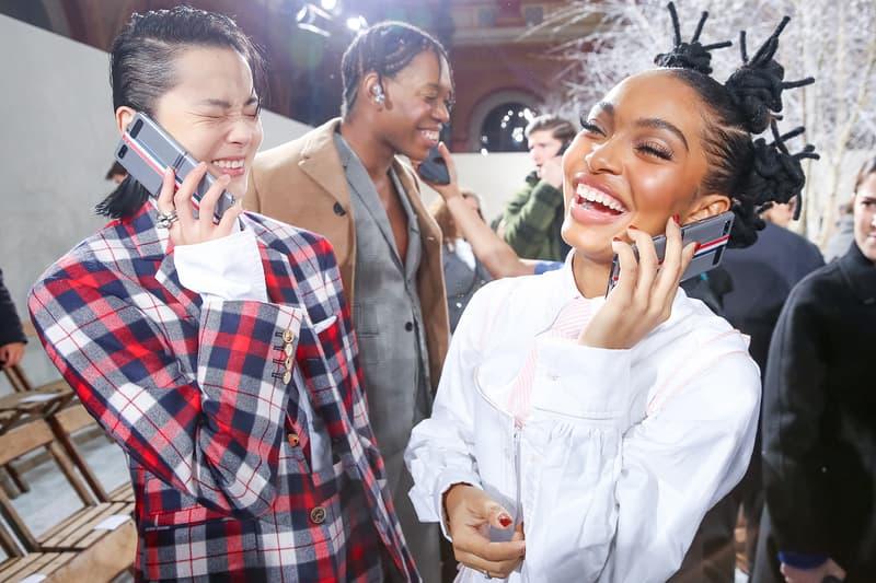 paris fashion week celebrity looks thom browne xiao wen ju yara shahidi