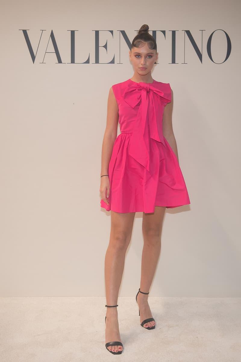 paris fashion week celebrity looks valentino iris law