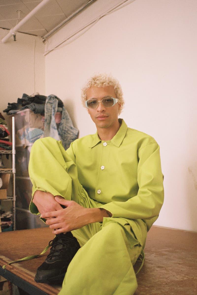PHLEMUNS x Bonnie Clyde Sunglasses Double Check Teal Pheal