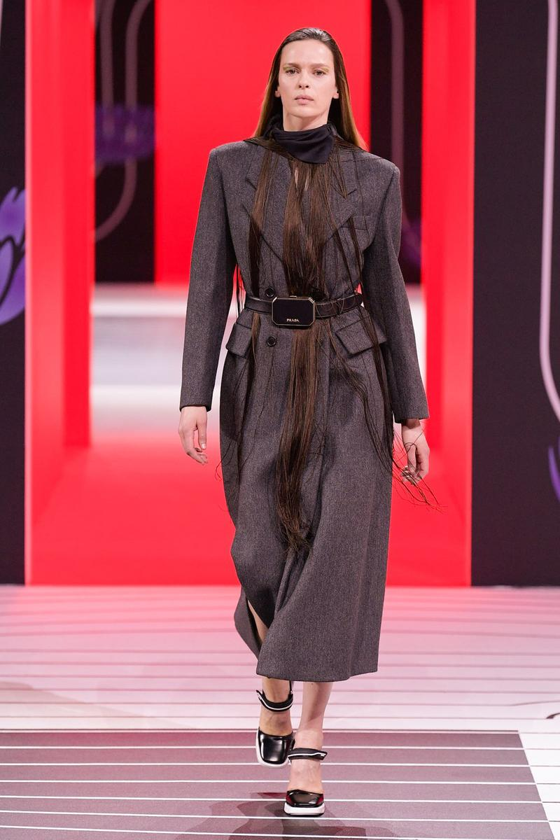 Prada Fall/Winter 2020 Collection Runway Show Coat