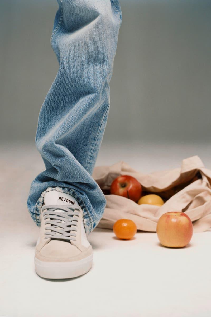 re done womens sneakers 70s tennis 80s basketball 90s skate shoes sustainability footwear sneakerhead