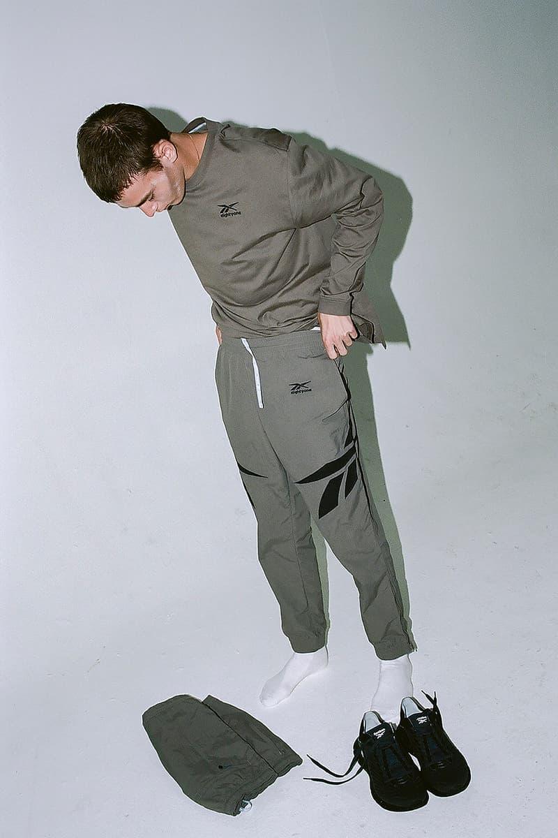 reebok kohei okita collaboration spring summer eightyone sneakers jackets pants
