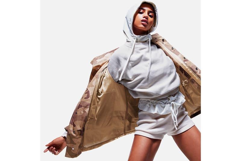 reebok victoria beckham spring summer collaboration sports activewear hoodies sweatshirts tote bags