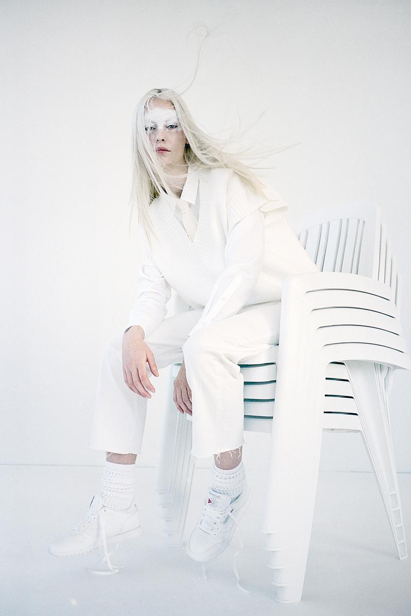 Reebok Classic Leather White NAKED Editorial
