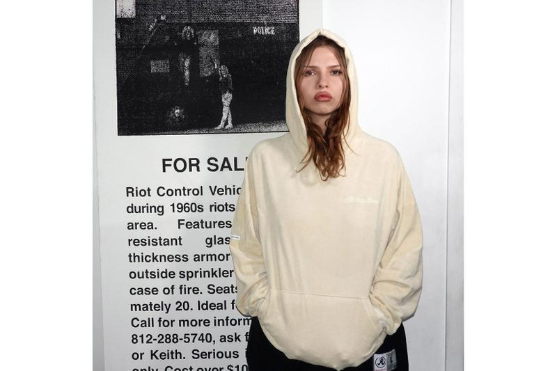 Richardson Velour Collection Hoodie Beige