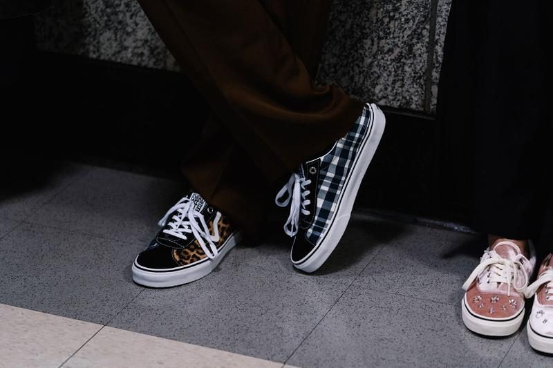 sandy liang fall winter backstage runway vans authentic collaboration nyfw new york fashion week