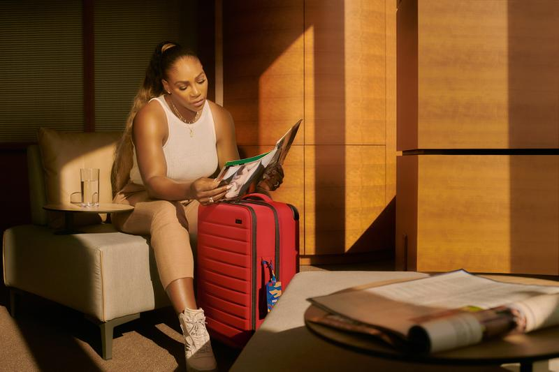Serena Williams x Away Suitcase Collaboration Collection The Expandable Carry On