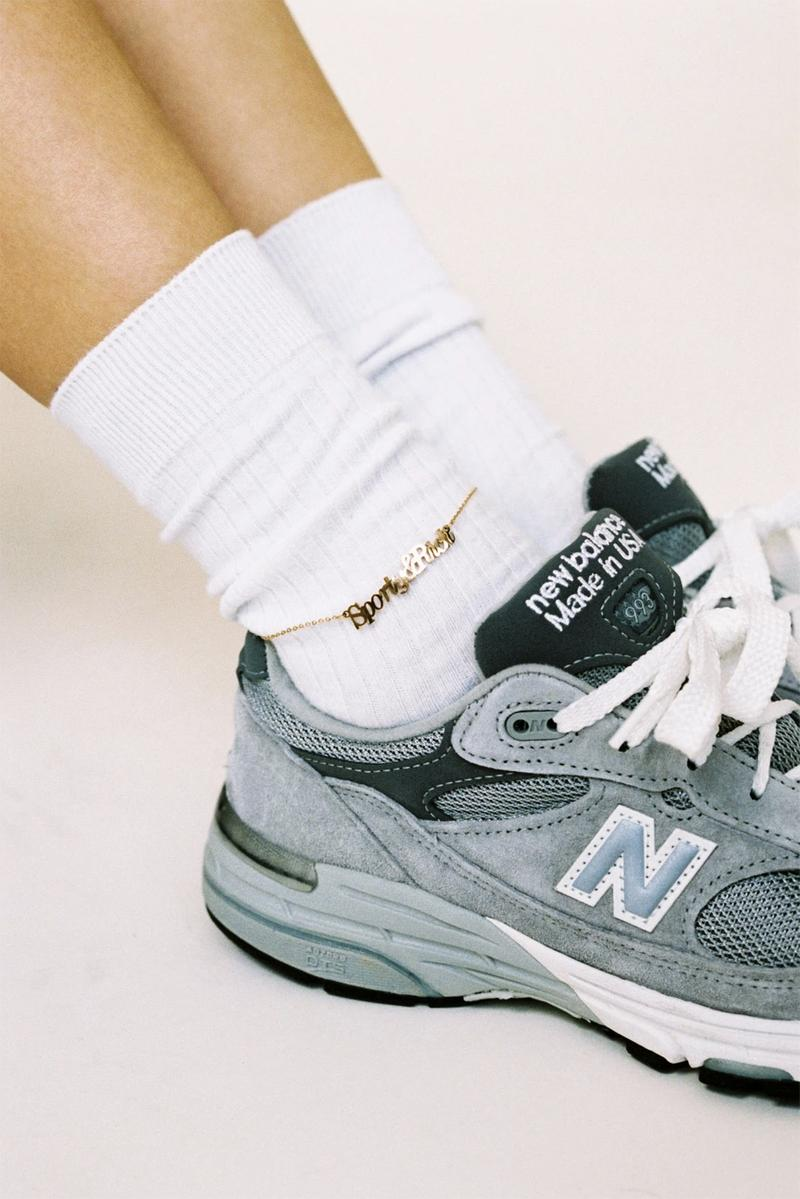 sporty and rich emily oberg gold plated anklet jewelry accessories