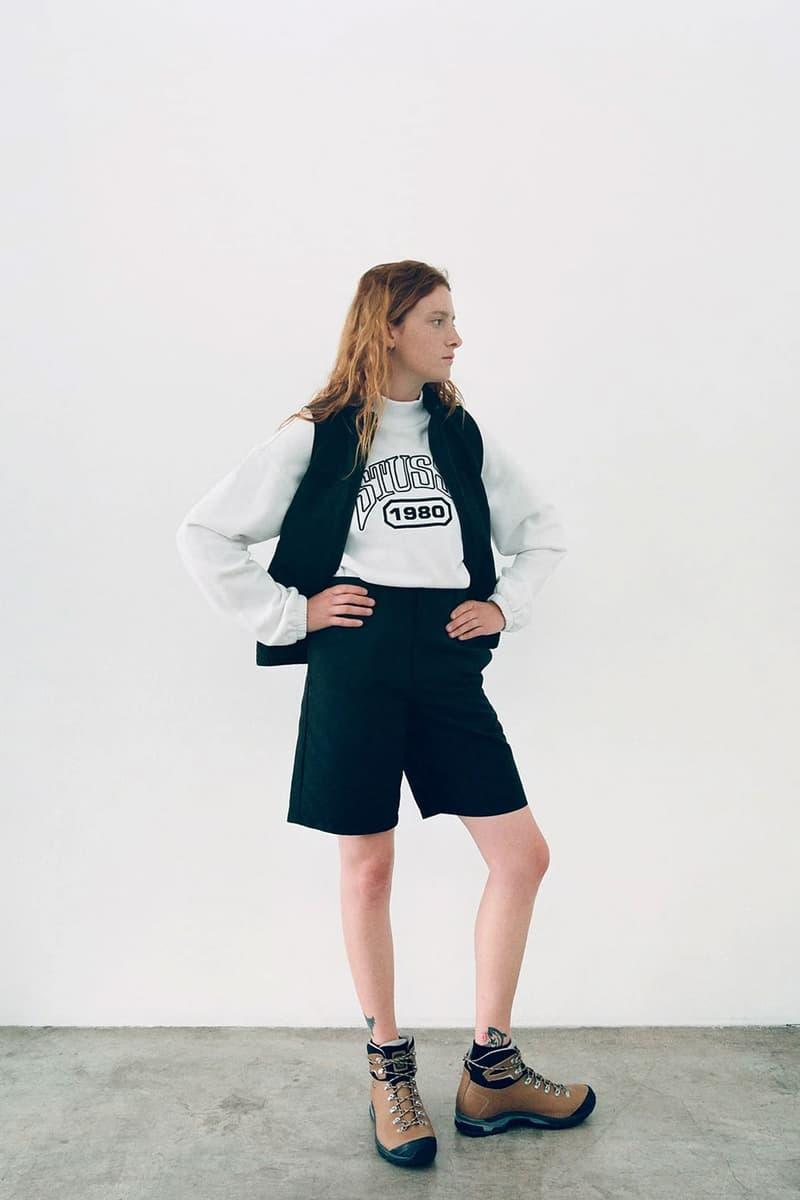 Stussy Women Spring Summer Collection Lookbook Sweatshirts Fleece Jackets Dresses