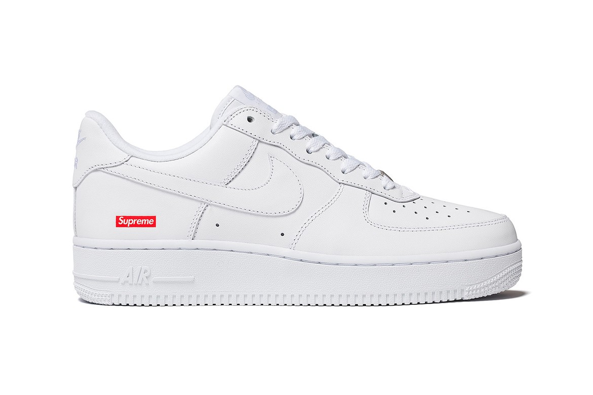 Nike Air Force 1 Shoes A First Look at Supreme's Nike Air Force 1 Low | HYPEBAE