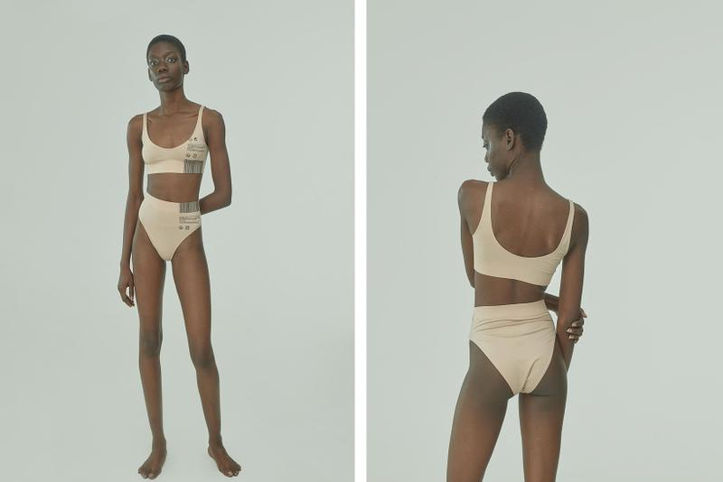 TTSWTRS Spring/Summer 2020 Collection Lookbook Cotton Top High Waist Briefs Beige