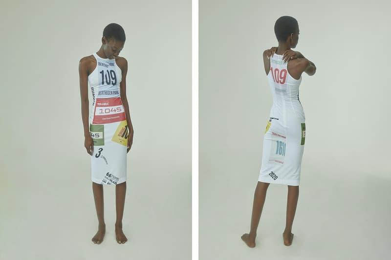 TTSWTRS Spring/Summer 2020 Collection Lookbook Velvet Dress White