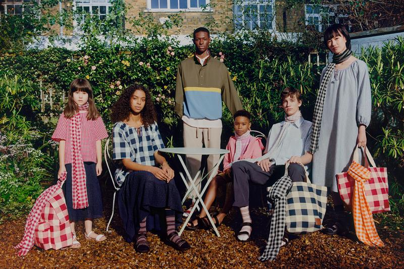 jw anderson uniqlo spring summer jonathan lookbook british womens kidswear