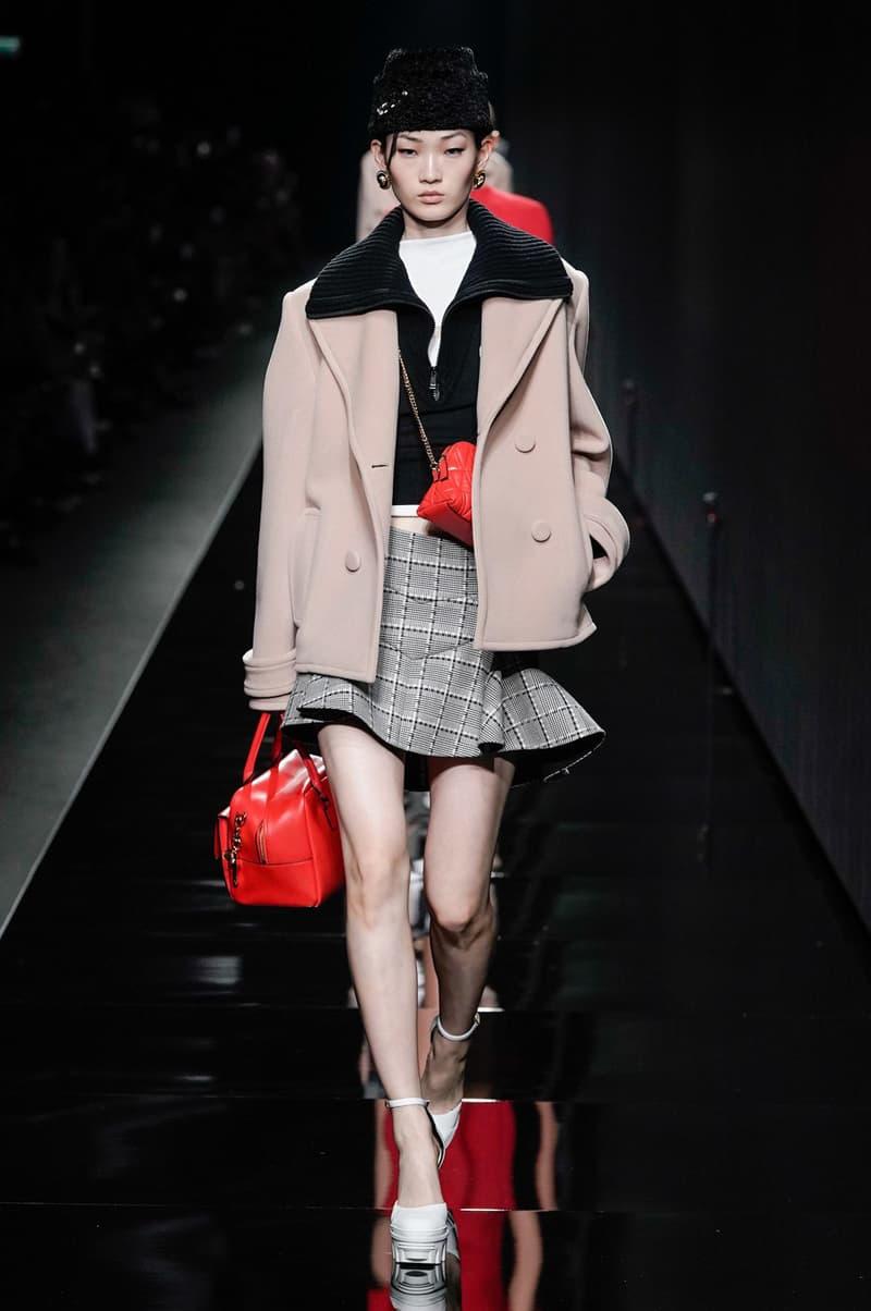Versace Fall/Winter 2020 Collection Runway Show Jacket Beige