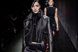 Picture of Versace FW20 Goes (Mostly) Back to Black
