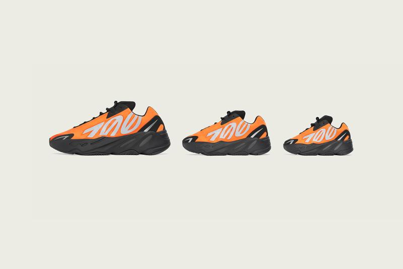 YEEZY BOOST 700 MNVM Orange Kanye West adidas Originals