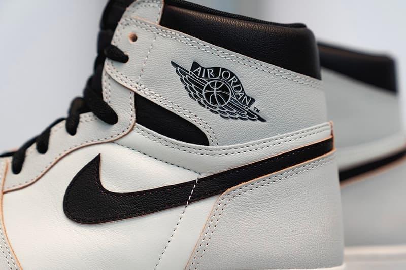 "Air Jordan 1 Retro High ""Light Smoke Grey"" Drop Nike Sneaker Release AJ1"