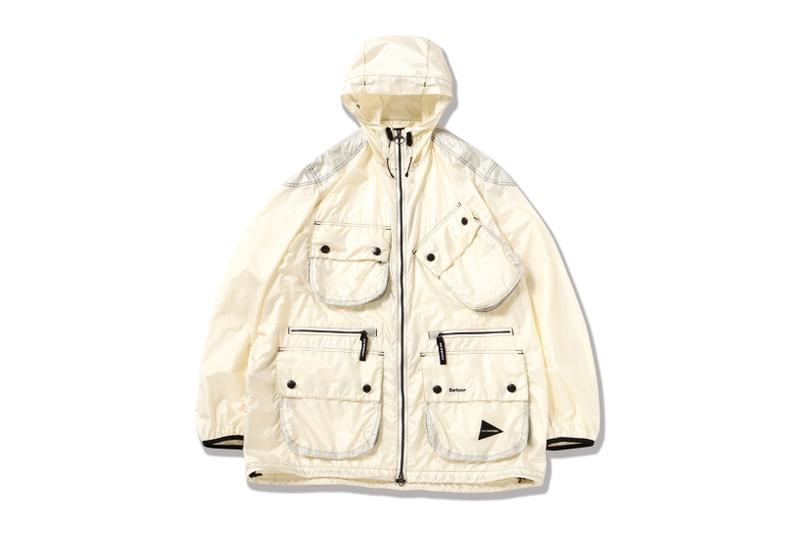 and wander Spring Summer 2020 Barbour Outerwear Jackets Collaborations