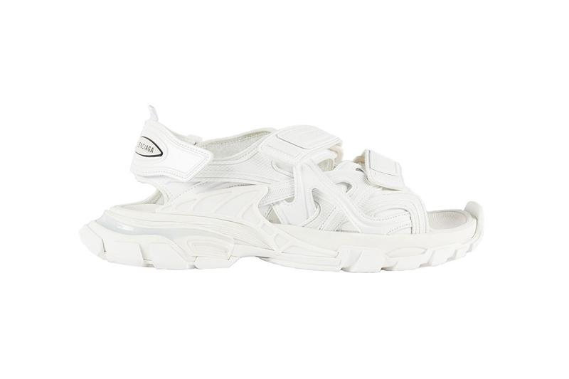 balenciaga track sandals chunky spring summer footwear release date