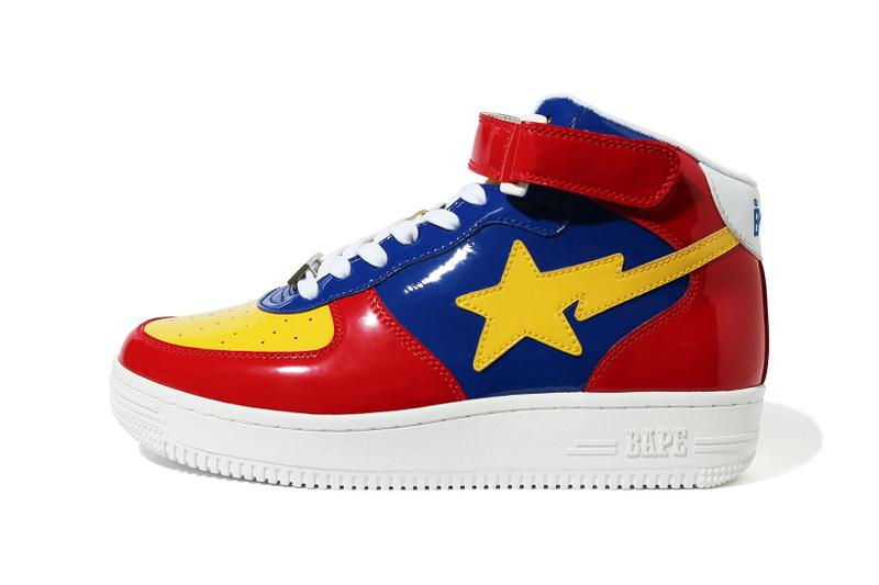 BAPE STA Mid Red Blue Yellow