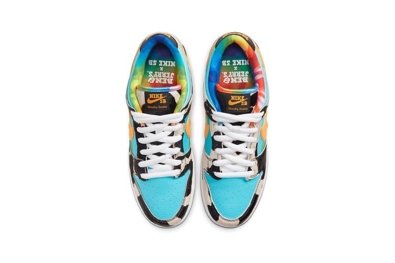 Ben & Jerry's x Nike SB Dunk Low Chunky Monkey