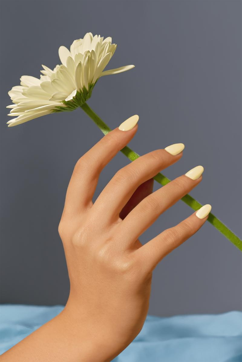 best spring nail polish color home manicure sunnies face daisy pastel yellow beauty cosmetics