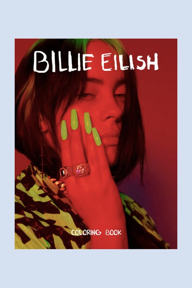 Billie Eilish Coloring Book UNICEF Charity HYPEBAE