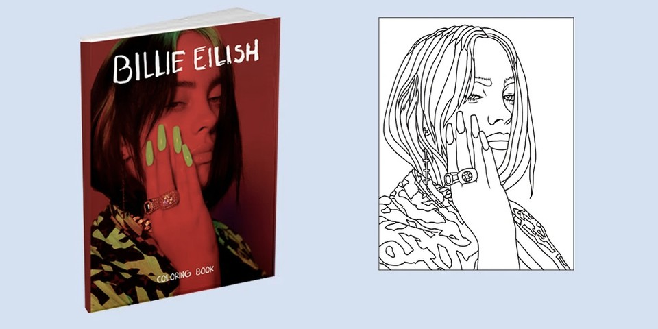 Billie Eilish Has Just Launched a Coloring Book