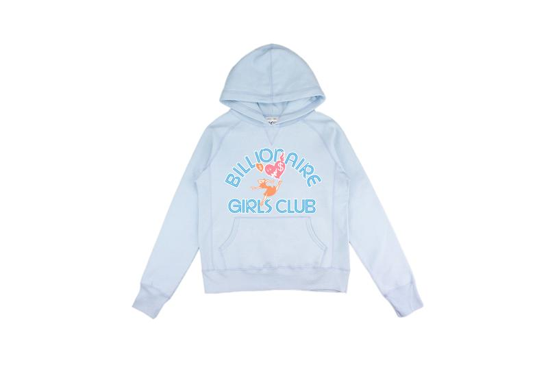 Billionaire Girls Club Relaunch Capsule Collection Hoodie Blue