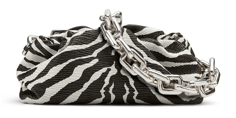 Bottega Veneta's SS20 Zebra Print Pouch Is Available for Pre-Order Now