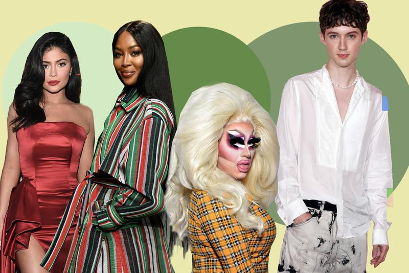 Best Celebrity YouTube Channels to Watch Kylie Jenner Naomi Campbell Lana Condor Trixie Mattel Jen Atkin