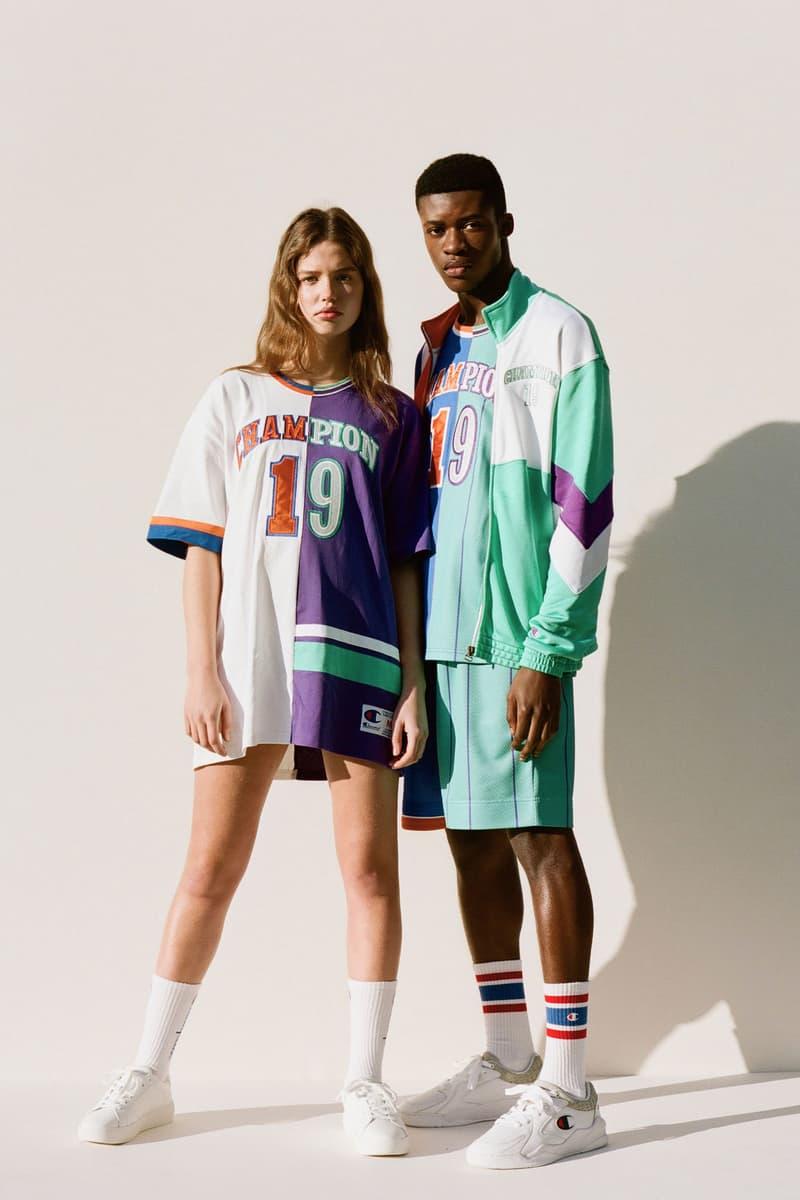 Champion Spring/Summer 2020 Collection Lookbook Logo Hoodies Sweatshirts